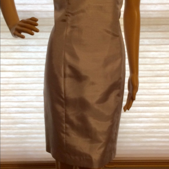 Ellen Tracy Dresses & Skirts - Silver dress with matching jacket
